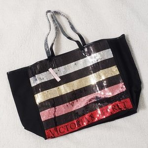 NWT Victoria's Secret Large Tote Bag